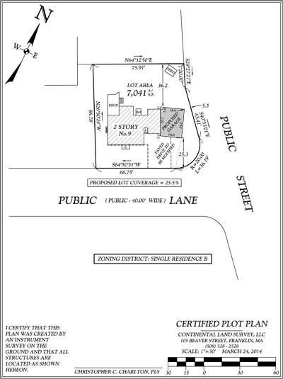 Simple Site Plan : Certified plot plans addition site or