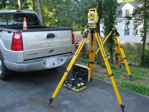 Floor Elevation Survey Equipment : Land surveyor ma plot plans surveying site